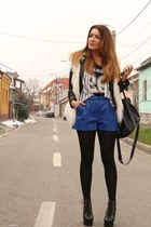 Jeffrey Campbell shoes - Vero Moda shorts - hm vest - hm accessories