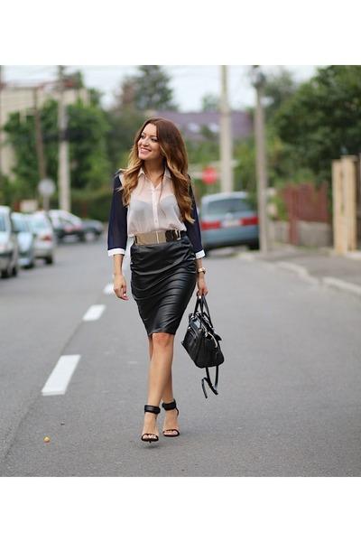 Ama Fashion skirt - Ama Fashion shirt - Guess bag - Zara sandals