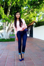 Navy-sxy-jns-jeans-light-pink-forever-21-sweater-blue-lob-pumps