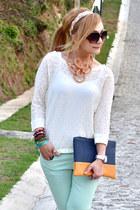 Zara jeans - Bershka bag - Zara blouse
