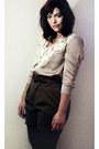 H-m-blouse-zara-shorts