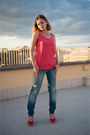 Miss-sixty-jeans-promod-shirt-bata-pumps