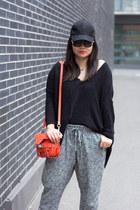 black Smart Set hat - black Smart Set pants