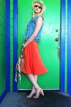 American Apparel skirt - Ross hat - missoni for target scarf