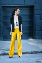 Topshop blazer - Shoshanna pants - cami slip tank rag & bone top
