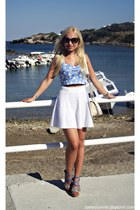 white H&M skirt