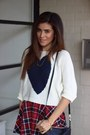 Beige-forever-21-boots-ivory-love-sweater-black-rovi-moss-bag