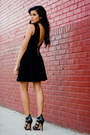 Black-love-dress-black-strappy-heels-lamb-heels