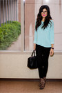 Leopard-booties-forever21-boots-sky-blue-loose-fit-h-m-sweater