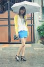 Yellow-sm-dept-cardigan-blue-sm-dept-skirt-black-parisian-jr-shoes-black-l