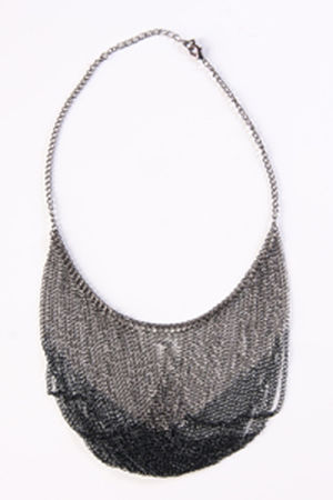 gray Send the Trend necklace
