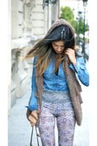 Topshop leggings - Holly Bracken vest