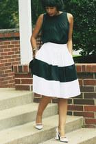 Loft shirt - eShakti skirt