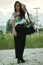 Black-forever-21-boots-white-cut-up-crop-top-vintage-by-shevahh-shirt