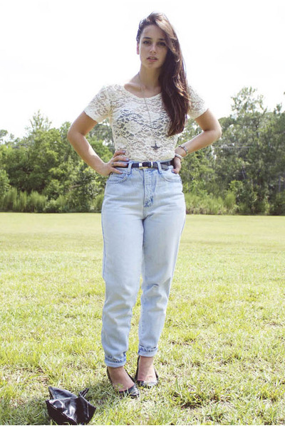 Old Fashioned High Waisted Jeans
