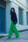 Gray-vintage-jacket-green-asos-pants