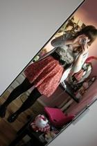 Laura Lee at Topshop skirt - Craft Couture at Topshop t-shirt - H&M jacket - Dor