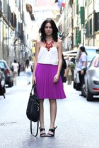 Purple Pleats