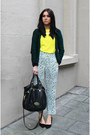 Aquamarine-h-m-pants-mulberry-bag-yellow-h-m-t-shirt-h-m-necklace