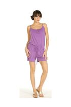 purple romper Velvet by Graham & Spencer shorts
