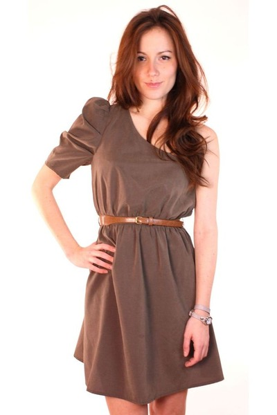 olive green ShopGoldiecom dress