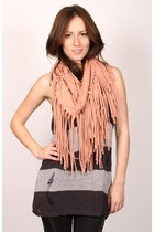 light pink ShopGoldiecom scarf