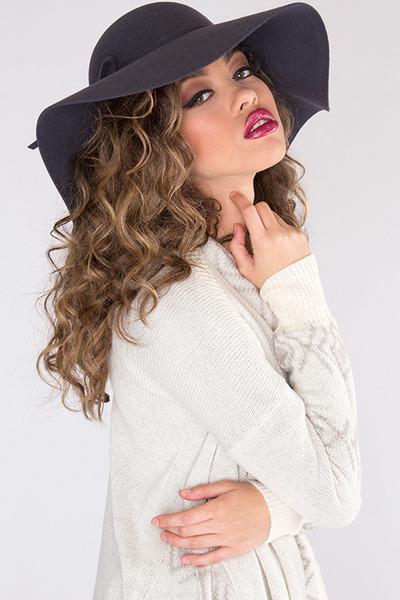 priceless hat - priceless cardigan