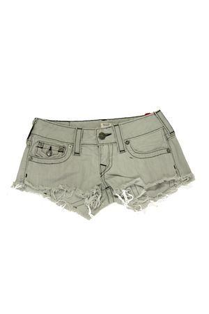 gray True Religion shorts