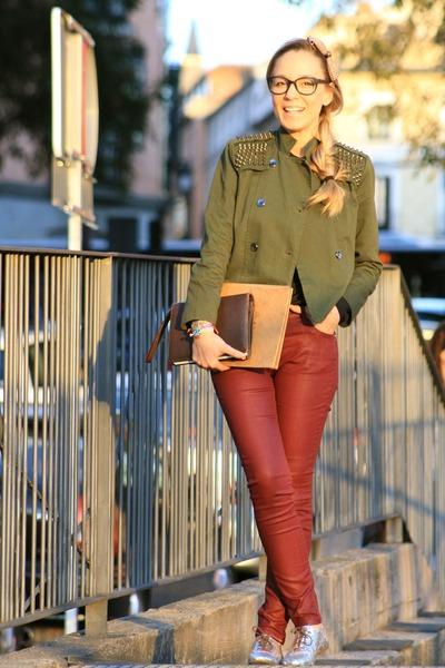 Queens Wardrobe jacket - Zara Kids shoes - Zara pants