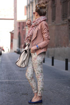 Stradivarius pants - Queens Wardrobe jacket - Nina & Co top