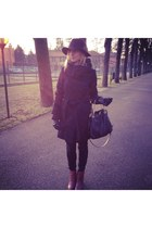 Zara boots - Zara coat - Michael Kors bag - Zara pants