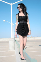 American Apparel dress - Urban Outfitters dress - Urban Outfitters sunglasses -