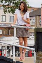 Chanel bag - Topshop skirt - Miu Miu belt - Charlotte Olympia pumps
