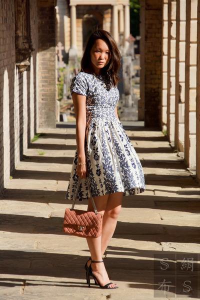 Chanel bag - Topshop dress - Chanel necklace - Zara sandals
