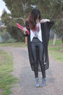 Tony-bianco-shoes-mooks-top-leather-dotti-pants-sheer-evil-twin-cardigan