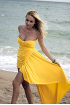 yellow AX Paris dress