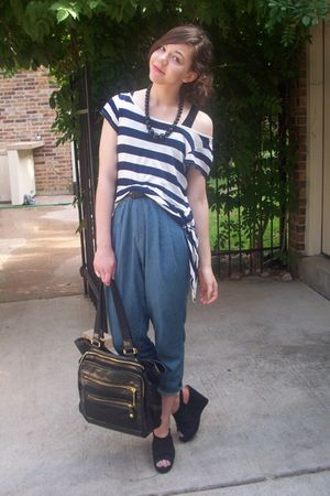 urban orginal pants - urban orginal shoes - TJMaxx purse