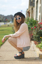 Marshalls shoes - Forever 21 hat - girlprops sunglasses