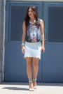 Off-white-free-people-skirt