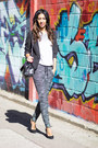 Dark-gray-h-m-blazer-heather-gray-h-m-t-shirt-charcoal-gray-h-m-pants