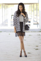 black Zara dress - heather gray H&M jacket