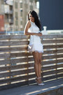 White-lipsy-dress