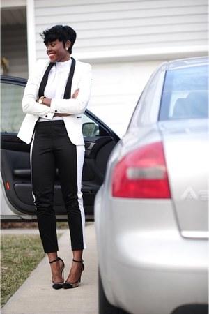 H&M shirt - BCBGeneration shoes - Zara blazer - H&M pants