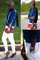 Aldo shoes - BCBG pants - Michael Kors watch