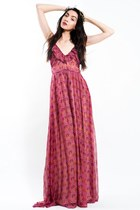ruby red ArynK dress - Slimskii hair accessory