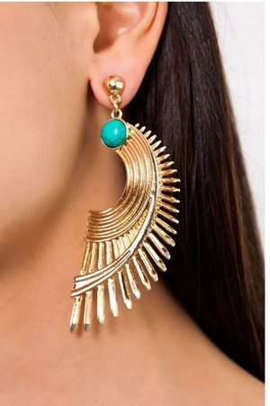Slimskii earrings