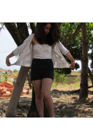 Stradivarius shorts - pull&bear top