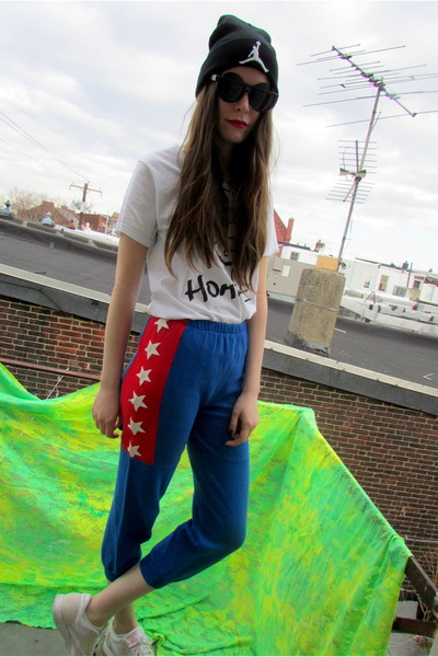 flag some velvet vintage pants