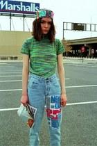 some velvet vintage jeans - 90s some velvet vintage shirt