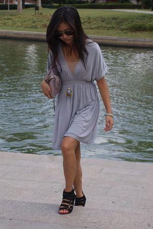 H&M dress - CaiCaiXiu shoes - Zara purse